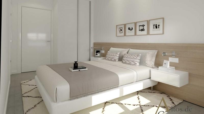 11 - спальня двуспальная высокий Кампоамор