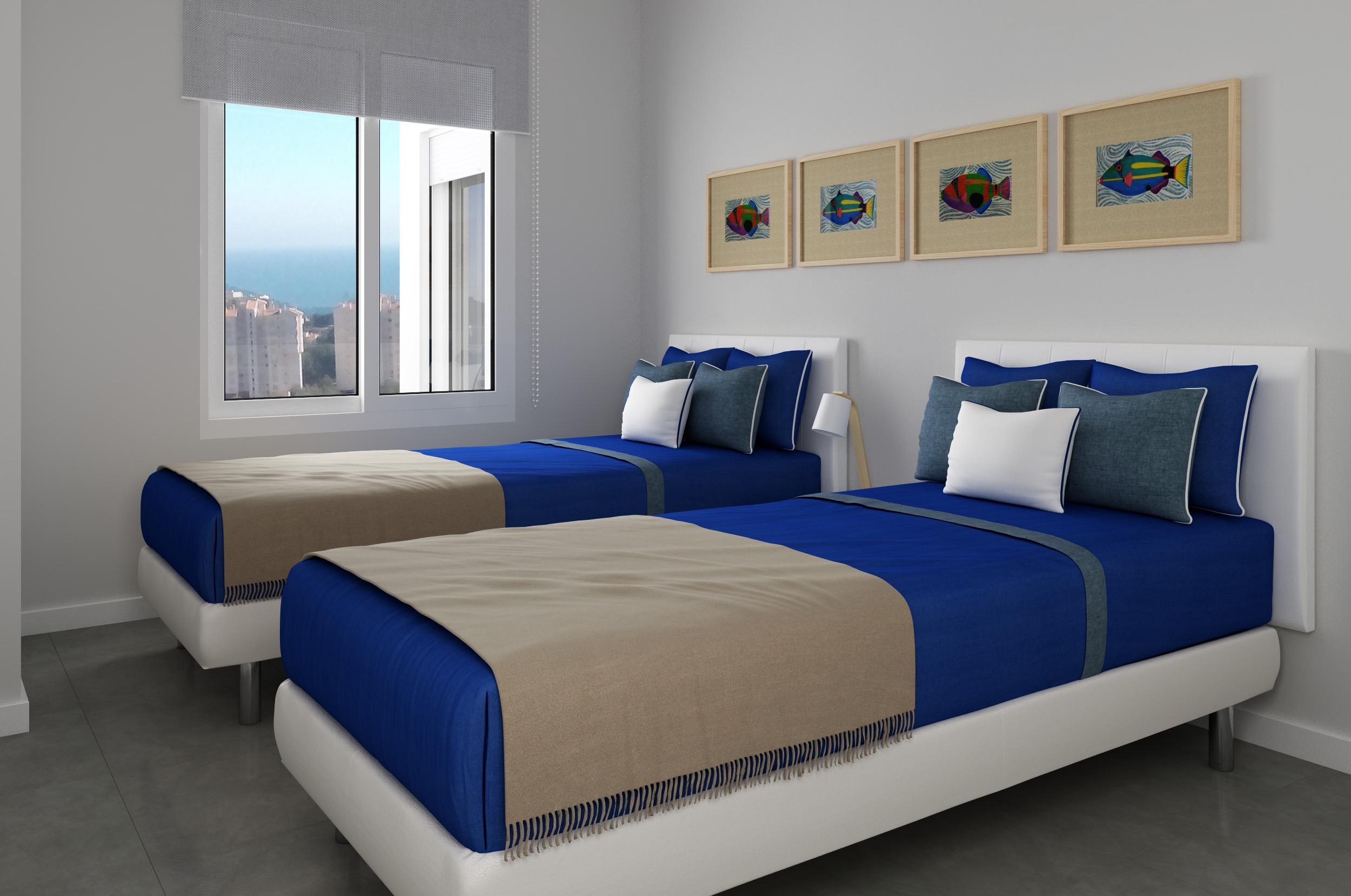 Travensa promociones y construcciones dormitorio invitados for Dormitorio invitados