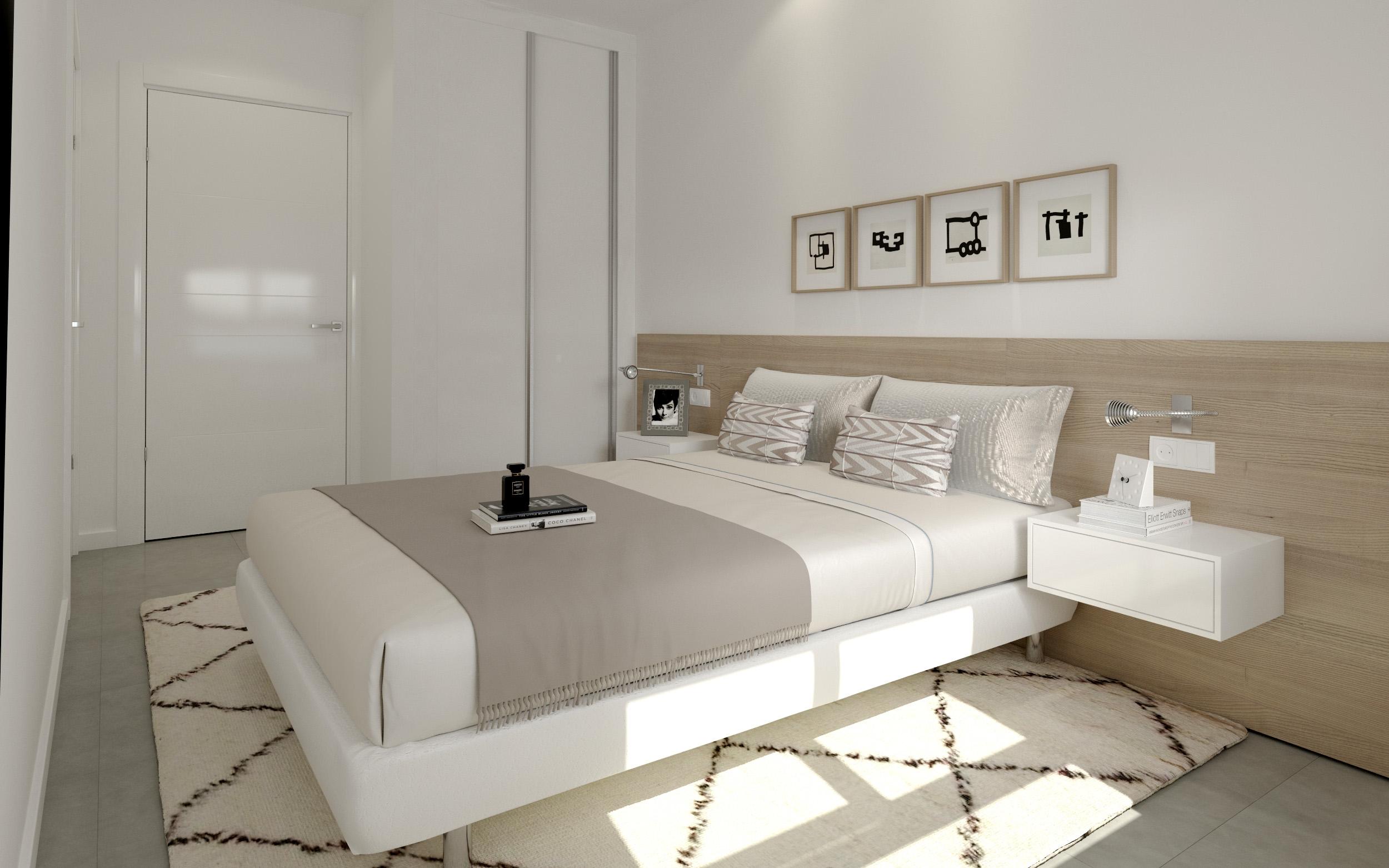 Travensa promociones y construcciones dormitorio principal for Dormitorio principal